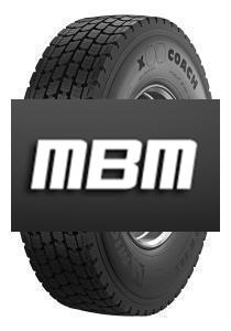 MICHELIN X COACH XD 295/80 R22.5 152/148  M - C,E,1,72 dB