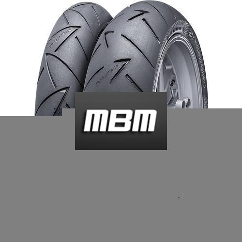 CONTINENTAL ROADATTACK 2 TL Rear  150/70 R17 69 Moto End.R+B Re TL Rear  V