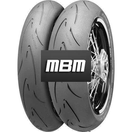 CONTINENTAL ATTACK SM  TL Rear  150/60 R17 66 Moto.HB_VR Rea TL Rear  H