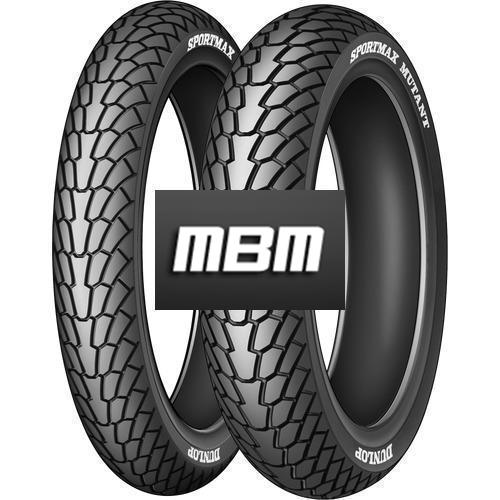 DUNLOP MUTANT (69W)  TL Rear  160/60 R17  Moto.ZR-WR RE TO TL Rear  Z
