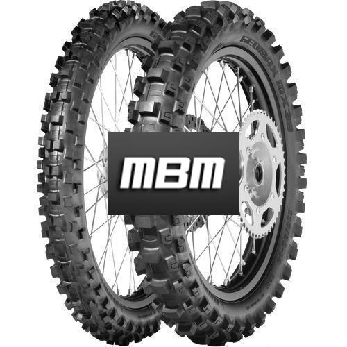 DUNLOP GEOMAX MX3S NHS  TT Rear  120/80 R19 63 Moto Cross TT Rear  M