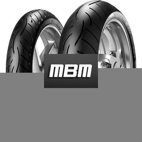 METZELER METZELER 190/55ZR17 (75W) TL MC REAR ROADTEC Z8 INTERACT O  190/55 R17 75 M TL R  W