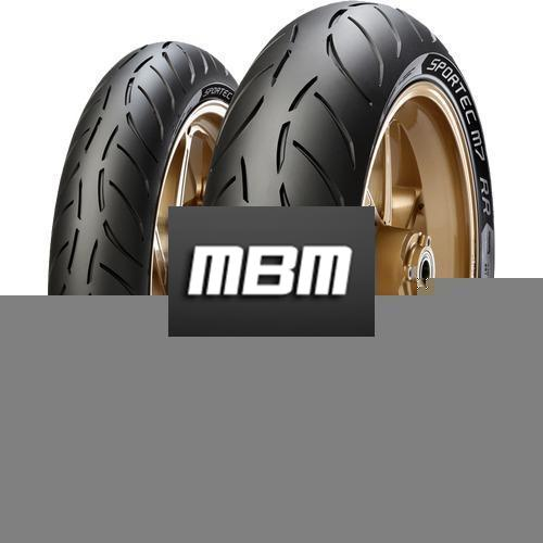 METZELER SPORTEC M7 RR TL Rear  190/55 R17 75 Moto.ZR-WR RE SP TL Rear  W