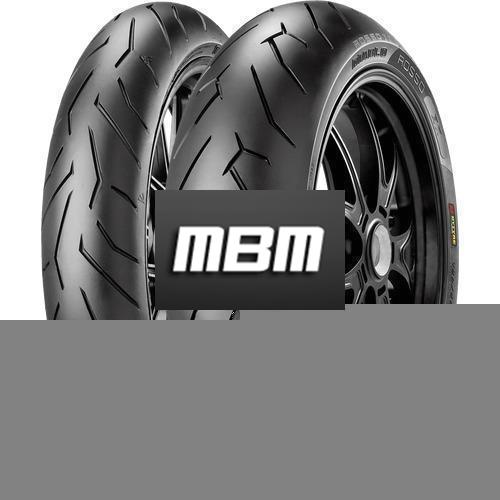 PIRELLI DIABLO ROSSO 2 (75W)  TL Rear  180/60 R17  Moto.ZR-WR RE SP TL Rear  Z