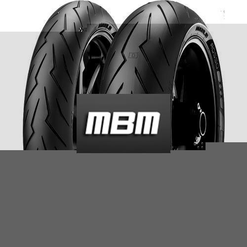 PIRELLI DIABLO ROSSO III TL Rear  150/60 R17 66 Moto.ZR-WR RE SP TL Rear  W